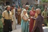 Daenerys and Pyat Pree in Qarth