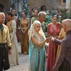 Daenerys and Pyat Pree in Qarth.