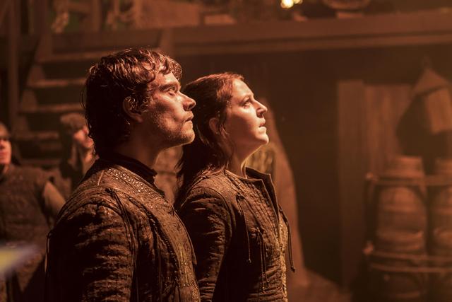 File:Yara and Theon Look Up at Euron.png