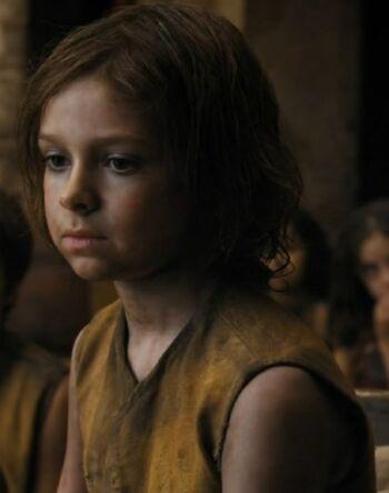 Orphan kid