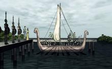 Valyrians landing on Rhoyne