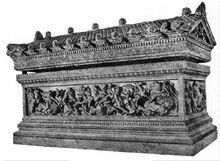 Trevyr's sarcophagus