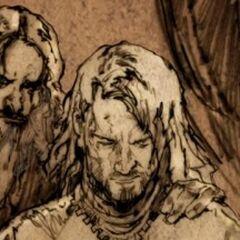 Trevyr and Aegon V Targaryen