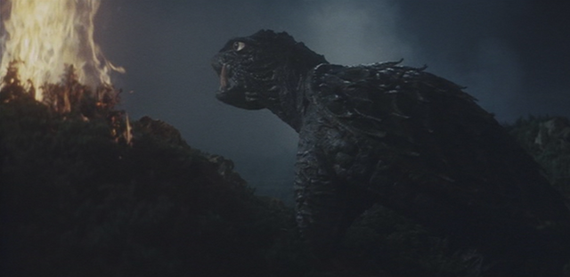 File:Gamera - 3 - vs Gyaos - 31 - The Japs start a forest fire and Gamera comes all healed.png