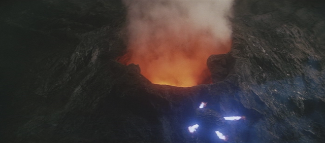 File:Gamera - 3 - vs Gyaos - 13 - Gamera is attracted to the volcano.png