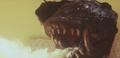 Gamera - 4 - vs Viras - 3 - Gamera destroys the ship from inside