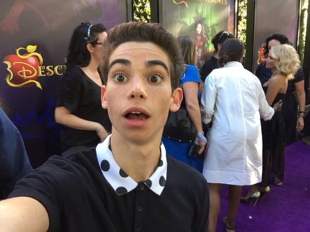 File:Cameron Boyce Descendants Premiere (1).jpg
