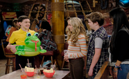Season 1, Episode 6 - Franklin holding toy frog