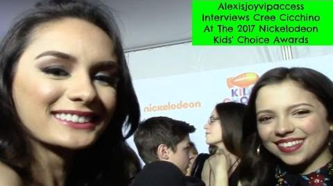 Game Shakers' Cree Cicchino Interview With Alexisjoyvipaccess - 2017 Nickelodeon KCA