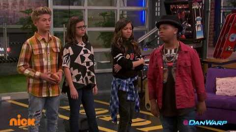 "Clamburger Crazy! ""Game Shakers"" ""Clam Shakers Part 1"" Dan Schneider"