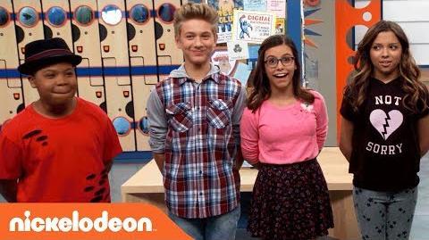 Game Shakers Trivia Challenge w Thomas, Cree, Madisyn & Benji Nick