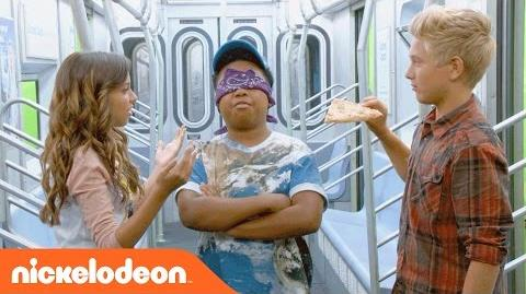 Game Shakers Subway Smells Challenge! Nick