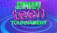 Jeopardy! Season 27 Teen Tournament Title Card