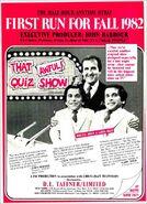That Quiz Show 1982 ad alt