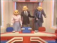 Super Password Three Cat Mask Wearers