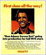 Don Adam's Screen Test 1975 ad