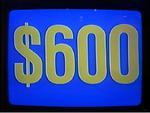 Jeopardy! 1984-1991 $600 figure