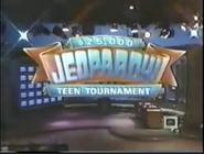 Jeopardy! $25,000 Teen Tournament