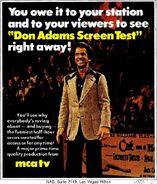 Don Adam's Screen Test 1975-3-17