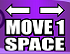 Move 1 Space (Left And Right)