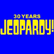 Jeopardy! 30 Years Logo