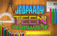 Jeopardy! Season 28 Teen Tournament Title Card