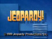 Jeopardy! 1989 copyright card
