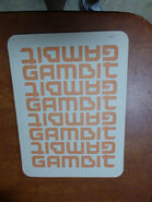 Gambit Card Back