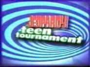 Jeopardy! Season 16 Teen Tournament Title Card