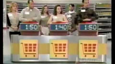 Supermarket Sweep (1994) Matt & Kirstin vs. Denise & Gina vs