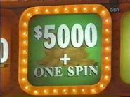 $5000+One Spin