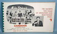Pantomime Quiz Game Booklet 1