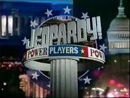 Jeopardy! Season 14 Power Players Title Card