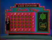 Cash Explosion Double Play Orginal Board