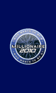 Who Wants To Be A Millionaire 2010 screen