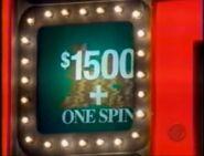 Celebrity PYL $1500 + One Spin