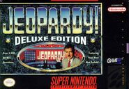Jeopardy! Deluxe Edition SNES Video Game