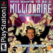 Who Wants To Be A Millionaire 2nd Edition Playstation Game