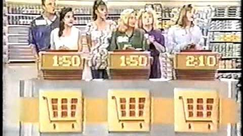 Supermarket Sweep Deanna & Alan vs. Sharon & Leeann vs
