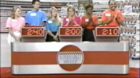 Supermarket Sweep of Champions (1991) Day 1 Caitlin & Brian vs. Lori & Val vs