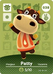 Amiibo AC Patty card