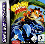 Crash of the Titans GBA EU