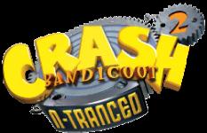 File:Crash Bandicoot 2 N-Tranced logo.png