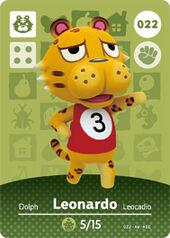 Amiibo AC Leonardo card