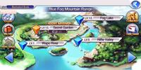 Blue Fog Mountain Range