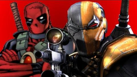 Deathstroke Vs Deadpool- Gaming All Star Rap Battles 14