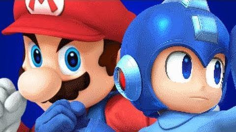 Mario Vs Mega Man REMASTERED- Gaming All Star Rap Battles 1 YEAR ANNIVERSARY-3