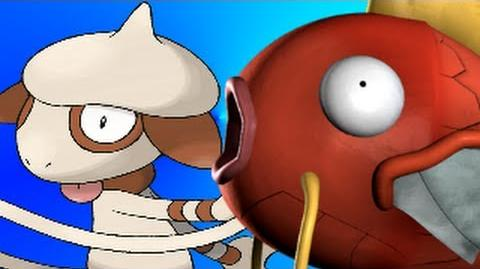 Smeargle Vs Magikarp- Gaming All Star Rap Battles-0