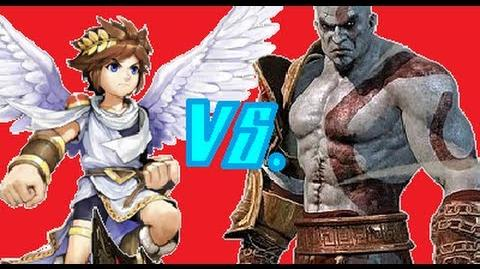 Pit Vs Kratos- Gaming All Star Rap Battles 02