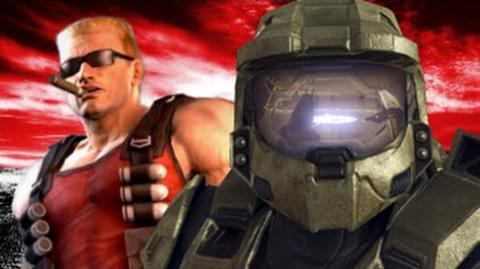 Master Chief Vs Duke Nukem- Gaming All Star Rap Battles Season 2